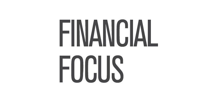 "The words ""Financial Focus"" written in big bold letters"